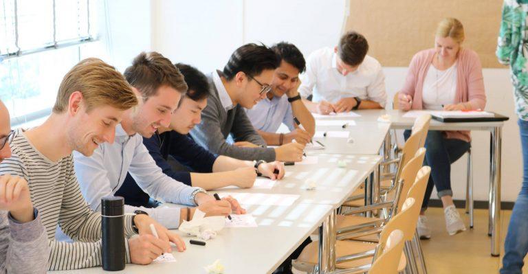Tekenworkshop in een groep